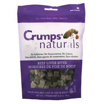 Picture of CRUMPS NATURALS BEEF LIVER BITES(FREEZE DRIED) - 65g/2.3oz