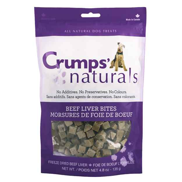 Picture of CRUMPS NATURALS BEEF LIVER BITES(FREEZE DRIED) - 135g