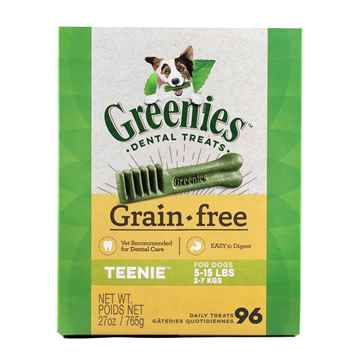 Picture of GREENIE CANINE DENTAL TREAT GRAIN FREE  27oz  Teenie - 96/box