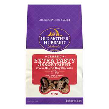 Picture of OLD MOTHER HUBBARD CLASSIC OVEN BAKED Extra Tasty BISCUITS Mini - 20oz
