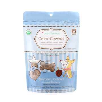 Picture of TREAT CANINE COCOTHERAPY Coco-Charms Coconut/Blueberry Cobbler - 5oz
