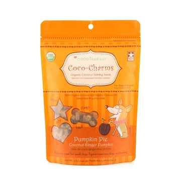 Picture of TREAT CANINE COCOTHERAPY Coco-Charms Coconut/Pumpkin Pie - 5oz