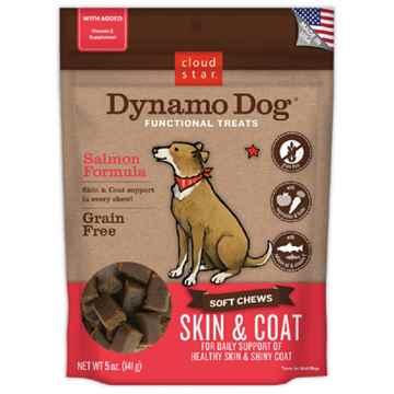 Picture of TREAT CANINE CLOUD STAR DYNAMO Skin&Coat Salmon - 5oz