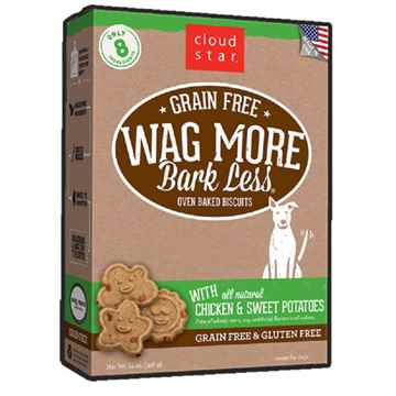 Picture of TREAT CANINE CLOUD STAR OVEN BAKED GF BISCUITS Chicken & Sw Potato - 14oz