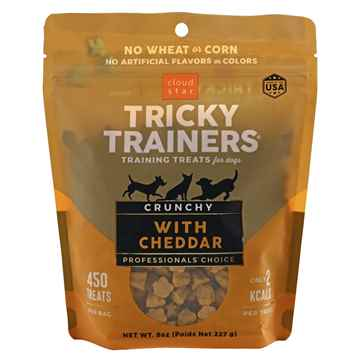 Picture of TREAT CANINE CLOUD STAR TRICKY TRAINERS CRUNCHY Cheddar - 8oz