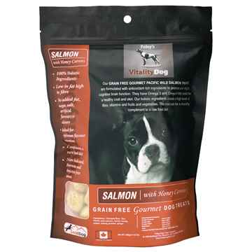 Picture of TREAT CANINE VITALITY Salmon & Carrot - 454g