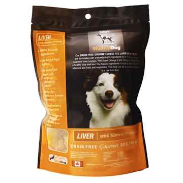 Picture of TREAT CANINE VITALITY Liver & Pumpkin - 454g