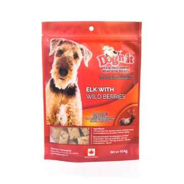 Picture of TREAT CANINE DOG'N IT EXOTIC Elk & Wilberry - 454g