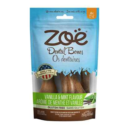 Picture of ZOE NATURAL DENTAL CHEW BONE Adult Antioxidant Large- 253g