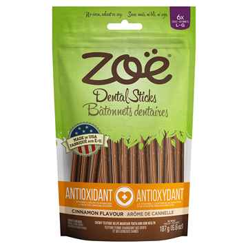 Picture of ZOE NATURAL DENTAL CHEW STICKS Adult Antioxidant Large - 187g