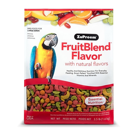 Picture of AVIAN ZUPREEM LARGE PARROT FRUIT BLEND - 3lbs