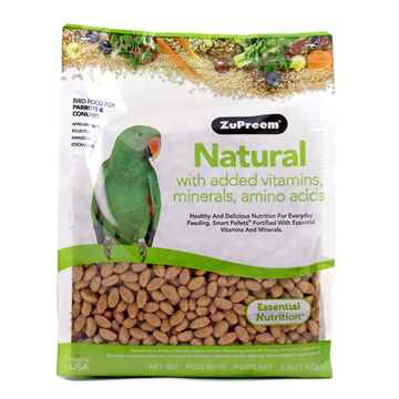 Picture of AVIAN ZUPREEM PARROT & CONURE NATURAL BLEND - 3lbs