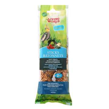 Picture of LIVING WORLD COCKATIEL Vegetable STICK (80702) - 2/pk