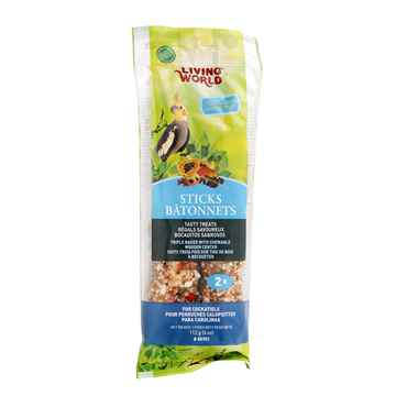 Picture of LIVING WORLD COCKATIEL FRUIT STICK (80701) - 2/pk