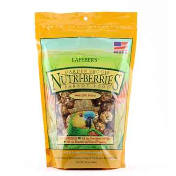 Picture of NUTRI-BERRIES GARDEN VEGGIE for PARROTS - 10oz bag