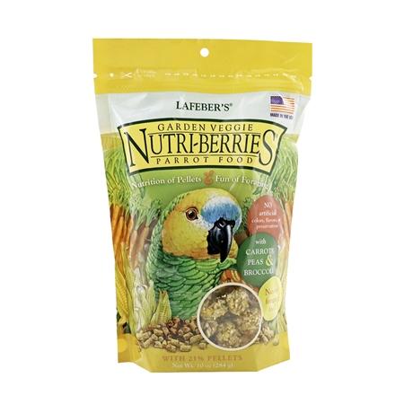 Picture of NUTRI-BERRIES GARDEN VEGGIE for PARROTS - 10oz bag