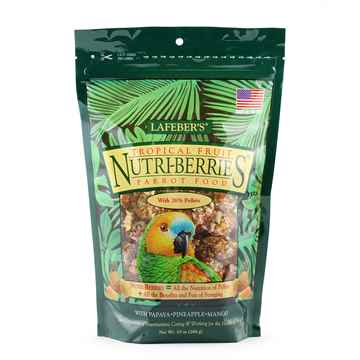 Picture of NUTRI-BERRIES TROPICAL FRUIT for PARROTS - 10oz bag
