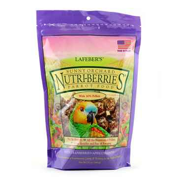 Picture of NUTRI-BERRIES SUNNY ORCHARD for PARROTS - 10oz bag