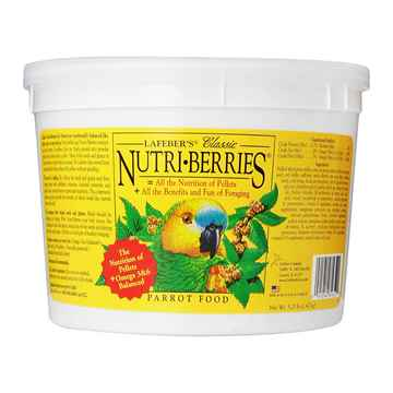 Picture of NUTRI-BERRIES PARROT - 3.25lb/bucket