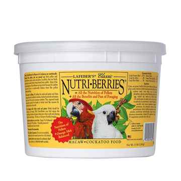 Picture of NUTRI-BERRIES for MACAW & COCKATOO - 3.5lb