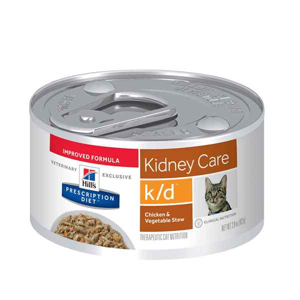 Picture of FELINE HILLS kd RENAL HEALTH CHICKEN & VEG STEW - 24 x 2.9oz