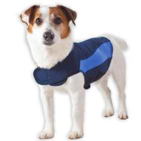 Picture of CLOTHING K/9 Thundershirt (15 -25lbs) Blue Polo - Small