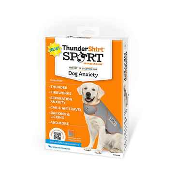 Picture of CLOTHING K/9 Thundershirt Sport (chest 30-37in weight 65-110lbs)Platinum - X Large