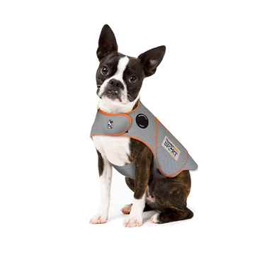 Picture of CLOTHING K/9 Thundershirt Sport (chest 13-17in weight 8-14lbs) Platinum - X Small