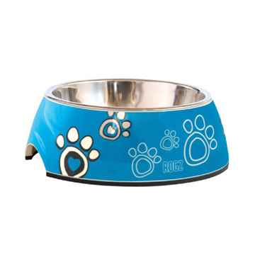 Picture of BOWL ROGZ BUBBLE 2 in 1 Turquoise Paw - 350ml