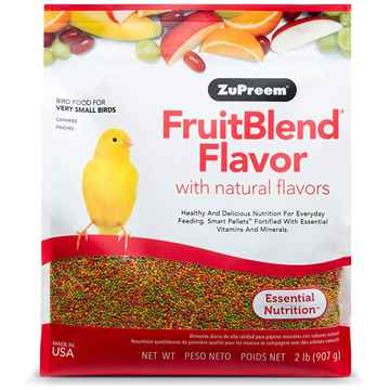Picture of AVIAN ZUPREEM FRUIT BLEND FLAVOR for Small Birds - 2lbs