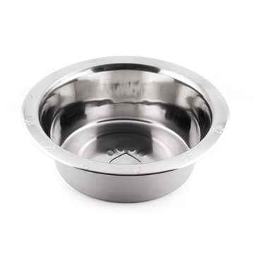 Picture of BOWL SS WIDE RIM PAW EMBOSSED Economy (J0802R) - 96oz