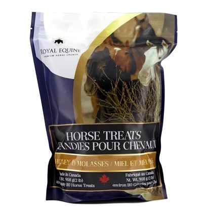 Picture of ROYAL EQUINE HORSE CRUNCH TREAT Hny & Molasses - 908g