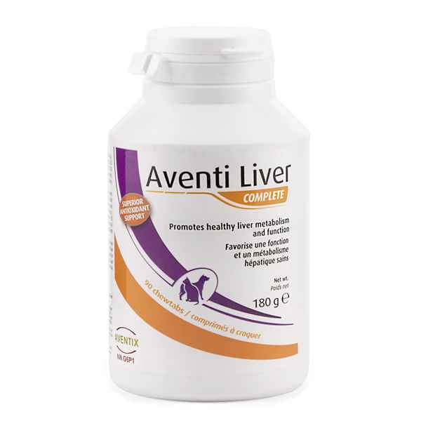 Picture of AVENTI LIVER COMPLETE TABS for DOGS & CATS - 90s