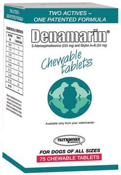 Picture of DENAMARIN 225mg CHEWABLE TABS - 75s