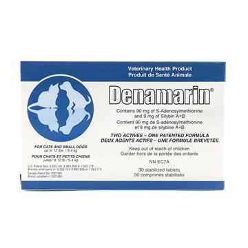 Picture of DENAMARIN 90mg TABLETS for CATS/SMALL DOGS - 30s