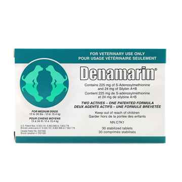 Picture of DENAMARIN 225mg TABLETS for MEDIUM DOGS - 30s