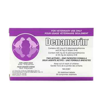 Picture of DENAMARIN 425mg TABLETS for LARGE DOGS - 30s