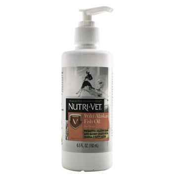 Picture of NUTRI-VET WILD ALASKAN SALMON OIL for DOGS - 6.5oz