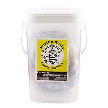 Picture of KNOTTIE KNOTS W/CATNIP - 50/jar