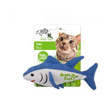Picture of TOY CAT AFP  GREEN RUSH Catnip Tuna
