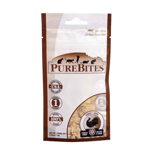 Picture of TREAT PUREBITES FELINE TURKEY - 14g