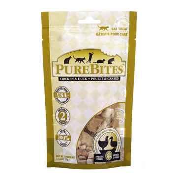 Picture of TREAT PUREBITES FELINE Chicken & Duck Liver  - 32g