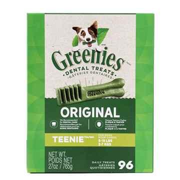Picture of GREENIE CANINE DENTAL TREAT ORIGINAL 27oz MONSTER PAK Teenie - 96/tub