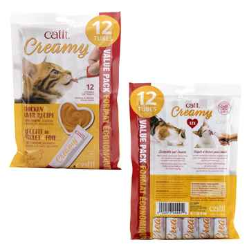Picture of TREAT CATIT CREAMY LICKABLE'S Chicken & Liver - 12 x 15g