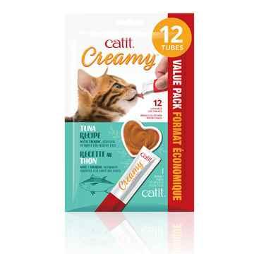 Picture of TREAT CATIT CREAMY LICKABLE'S Tuna Flavor - 12 x 15g
