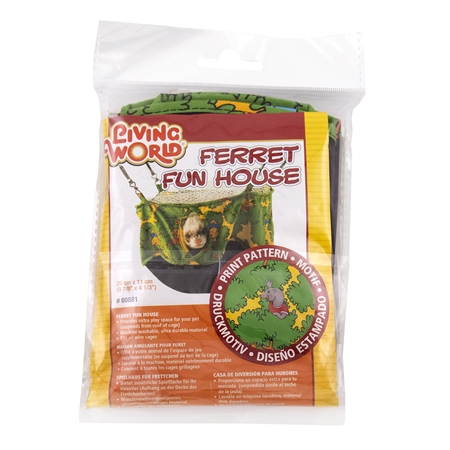 Picture of FERRET FUN HOUSE Living World (60881) - 10in diameter