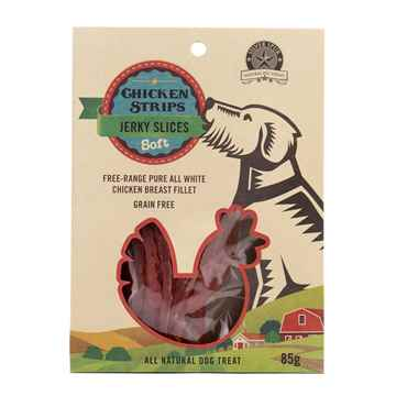 Picture of CHICKEN JERKY STRIPS SilverSpur - 85g