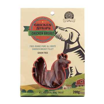 Picture of CHICKEN JERKY STRIPS SilverSpur - 200g