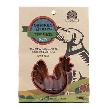 Picture of CHICKEN JERKY SLICES SilverSpur - 200g
