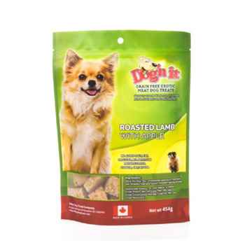 Picture of TREAT CANINE DOG'N IT EXOTIC Lamb & Apple - 454g